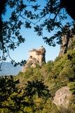 Monastery of St. Nikolas in Meteora, Greece Royalty Free Stock Photo