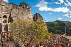 Monastery of St. Nikolas in Meteora, Greece Stock Image