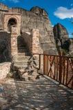 Monastery of St. Nikolas in Meteora, Greece Stock Photo