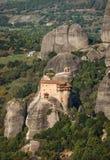 Monastery of St. Nikolas in Meteora, Greece Stock Photos