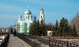 The Monastery of St. Seraphim of Sarov in Diveevo Stock Photos