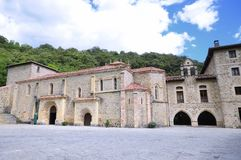 Monastery of St. Toribio of Liebana. Stock Photos