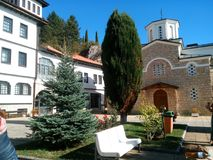Monastery in Struga stock photography
