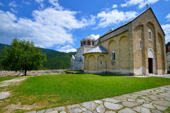 Monastery Studenica Royalty Free Stock Images