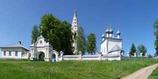 Monastery in Sudislavl, Russia Stock Images
