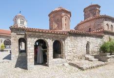 Monastery sv.naum lake ohrid macedonia republic europe Royalty Free Stock Photography