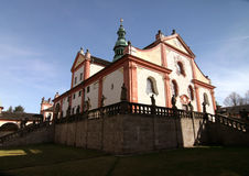 Monastery Svata Hora Royalty Free Stock Photography
