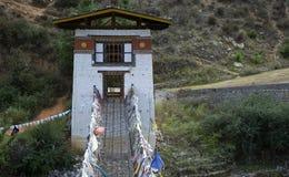 Monastery, Tamchhog Lhakhang, Bhutan Royalty Free Stock Image