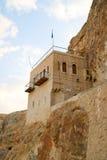 Monastery of Temptation, Palestine, Israel. Temptation Monastery Quruntal near Jericho, Palestine, Israel Stock Image