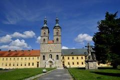 Monastery Tepla. Abbey premonstraten near Mariensbad - Czech Republic Stock Photo
