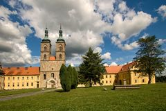 Monastery Tepla. Abbey premonstraten near Mariensbad - Czech Republic Stock Photos