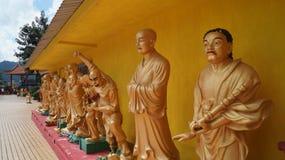 Monastery of a thousand Buddhas. Hong Kong Stock Photos