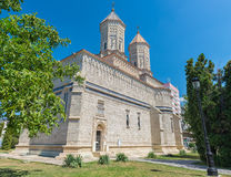 Monastery The Three Holy Hierarchs form Iasi, Romania Royalty Free Stock Photography