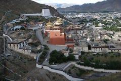 Monastery in  Tibet. Tashilunpul   Monastery   in  Shigatse, Tibet Stock Photos