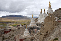 Monastery in  Tibet Royalty Free Stock Photography