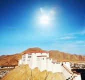Monastery in Tibet Royalty Free Stock Photography