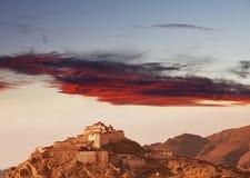 Monastery in Tibet Stock Images