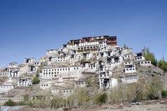 Monastery, Tiksey, Ladakh, India Royalty Free Stock Images