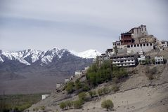 Monastery, Tiksey, Ladakh, India Stock Photo