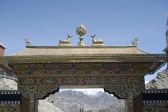 Monastery, Tiksey, Ladakh, India Royalty Free Stock Photos