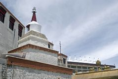 Monastery, Tiksey, Ladakh, India Stock Photography
