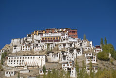 Monastery, Tiksey, Ladakh, India Royalty Free Stock Photography