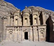 Monastery tomb - Petra Royalty Free Stock Image