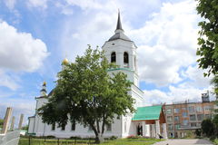 Monastery in Tomsk Stock Photos