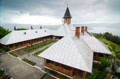 Monastery topview Stock Photo