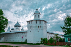 Monastery tower Royalty Free Stock Photo