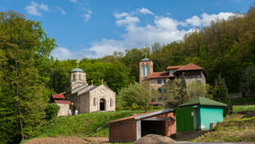 Monastery Tresije Royalty Free Stock Photo