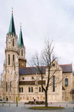 Monastery is twelfth-century Augustinian monastery of Roman Catholic Church Stock Photo