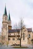 Monastery is twelfth-century Augustinian monastery of Roman Catholic Church Stock Photo