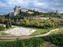 Monastery at Ucles, Castilla la Mancha, Spain Stock Photos