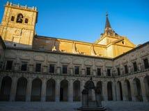 Monastery at Ucles, Castilla la Mancha, Spain Stock Images