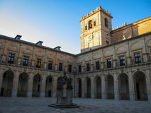 Monastery at Ucles, Castilla la Mancha, Spain Stock Images