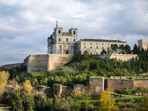Monastery at Ucles, Castilla la Mancha, Spain Stock Photo