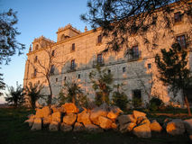 Monastery at Ucles, Castilla la Mancha, Spain Royalty Free Stock Photos