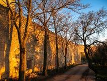 Monastery at Ucles, Castilla la Mancha, Spain Royalty Free Stock Images