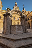Monastery of Ucles in Spain Stock Photo