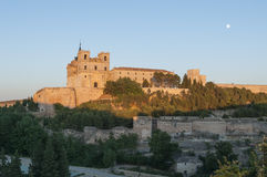 Monastery of Ucles Stock Photography