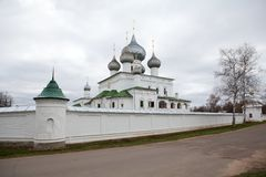 Monastery in Uglich, Russia Royalty Free Stock Photo