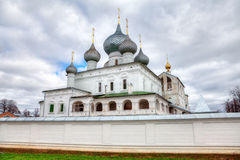 Monastery in Uglich, Russia Stock Image