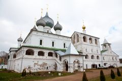Monastery in Uglich, Russia Royalty Free Stock Photography