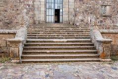 Monastery upstairs nort. Francia Peak monastery Salamanca (Spain) (Europe Stock Image