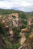 Monastery Varlaam, Greece Royalty Free Stock Photography