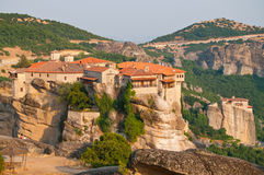 Monastery of Varlaam at Meteora Royalty Free Stock Photography
