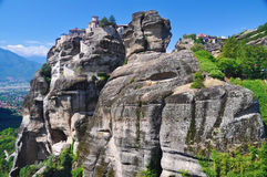 Monastery of Varlaam, Meteora, Greece Royalty Free Stock Photo