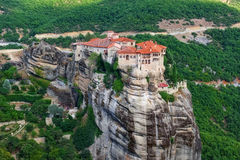 Monastery of Varlaam, Meteora, Greece Royalty Free Stock Images