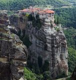The Monastery of Varlaam, Meteora, Greece Royalty Free Stock Photos
